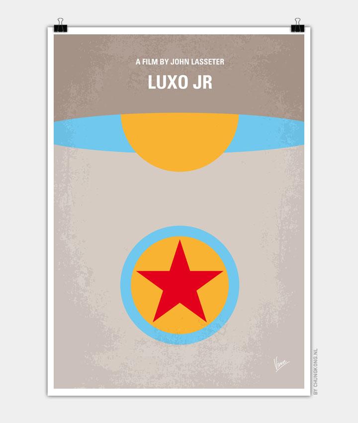 No171 My LUXO JR minimal movie poster 720px