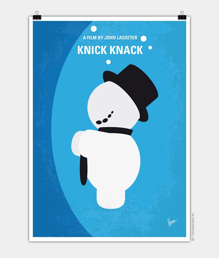 No172 My Knick Knack minimal movie poster 720px