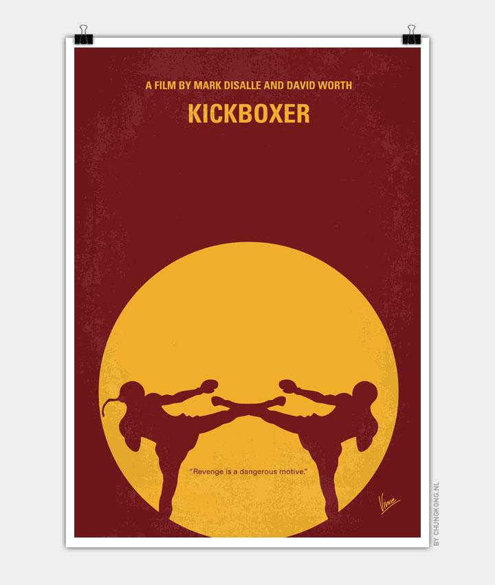 No178 My KIckboxer minimal movie poster 720px