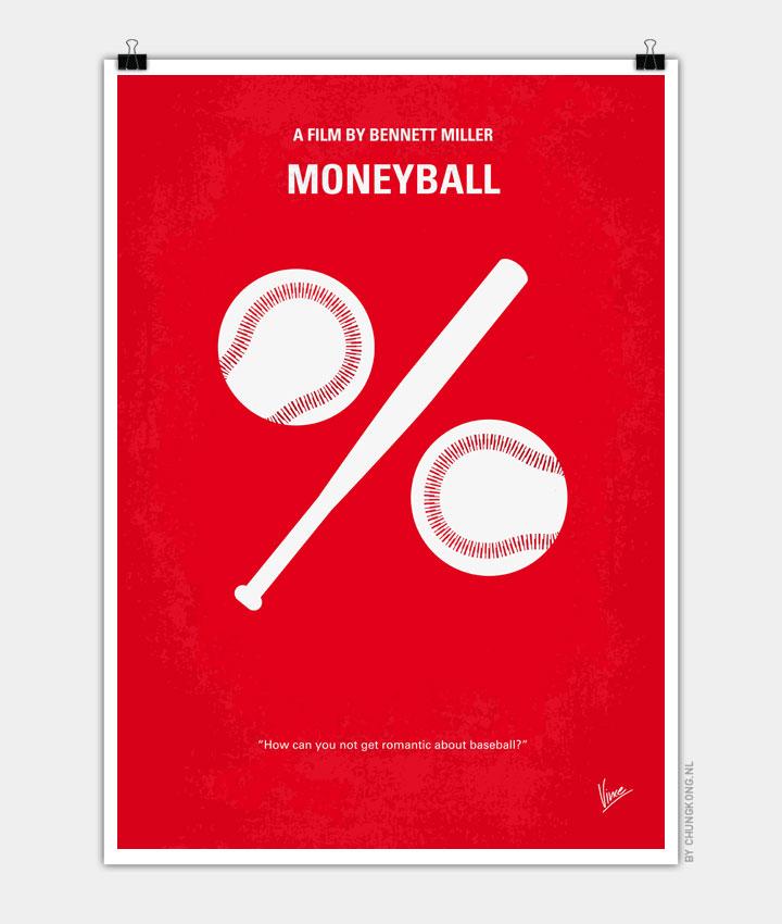 No191 My Moneyball minimal movie poster 720PX