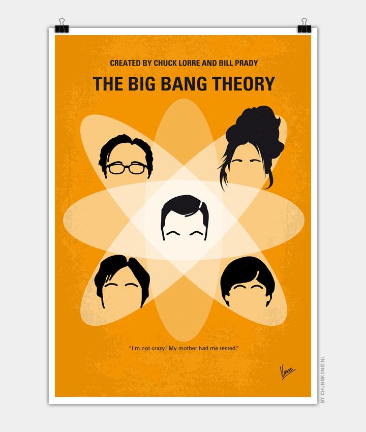 No196 My The Big Bang Theory minimal poster 720px