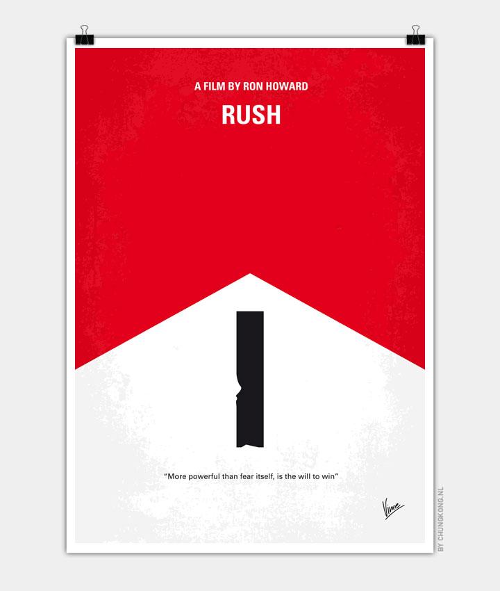 No228 My Rush minimal movie poster 720px