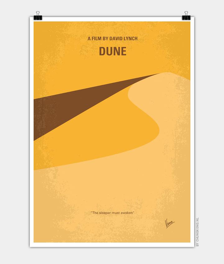 No251 My DUNE minimal movie poster 720px