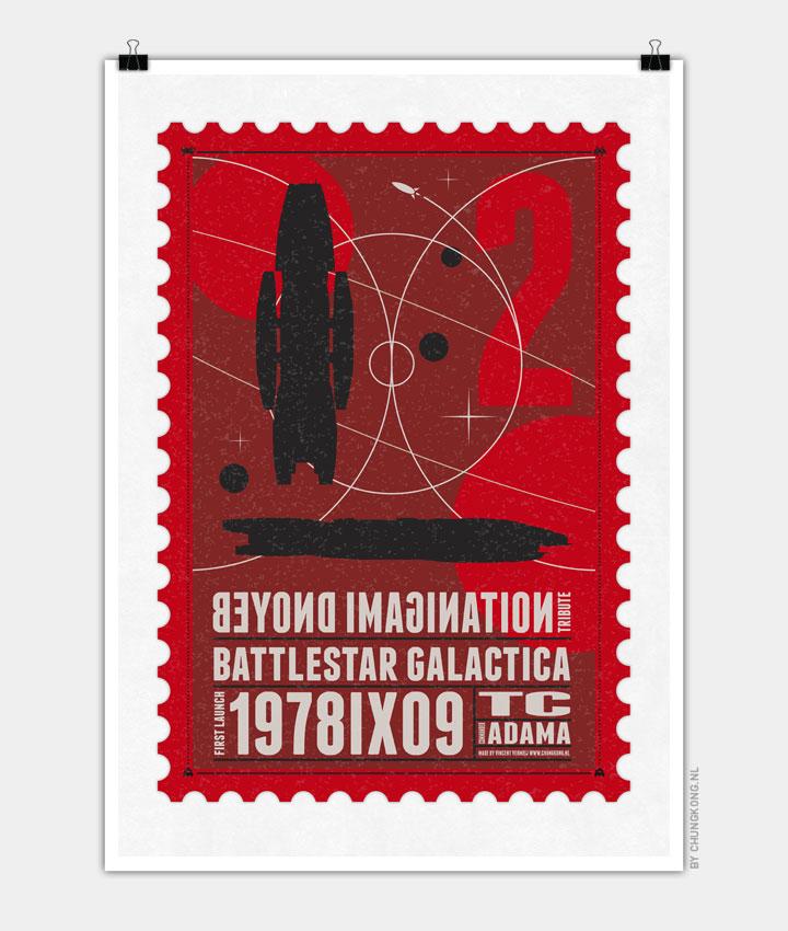 Starships 02 poststamp Battlestar Galactica 720px