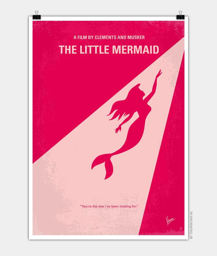 No314-My-Mermaid-minimal-movie-poster 720PX