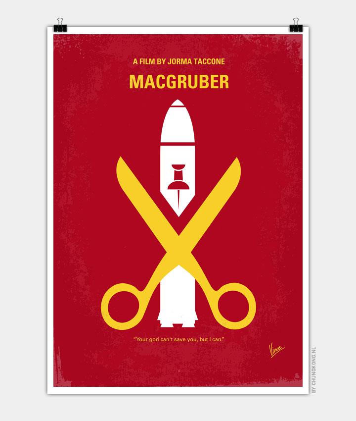 No317-My-MacGruber-minimal-movie-poster 720PX