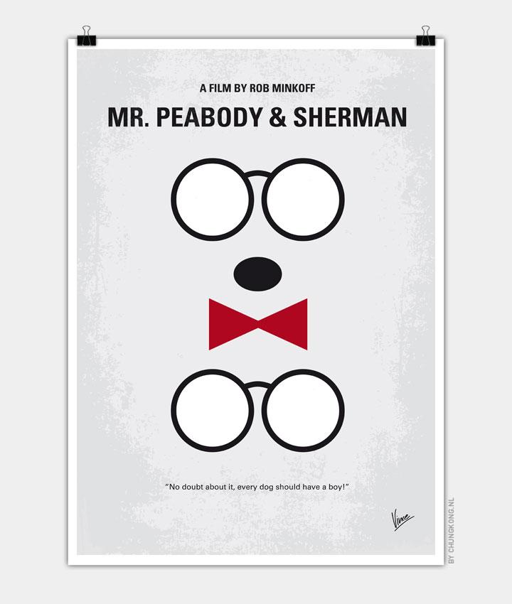 No324-My-MrPeabody-minimal-movie-poster-720px