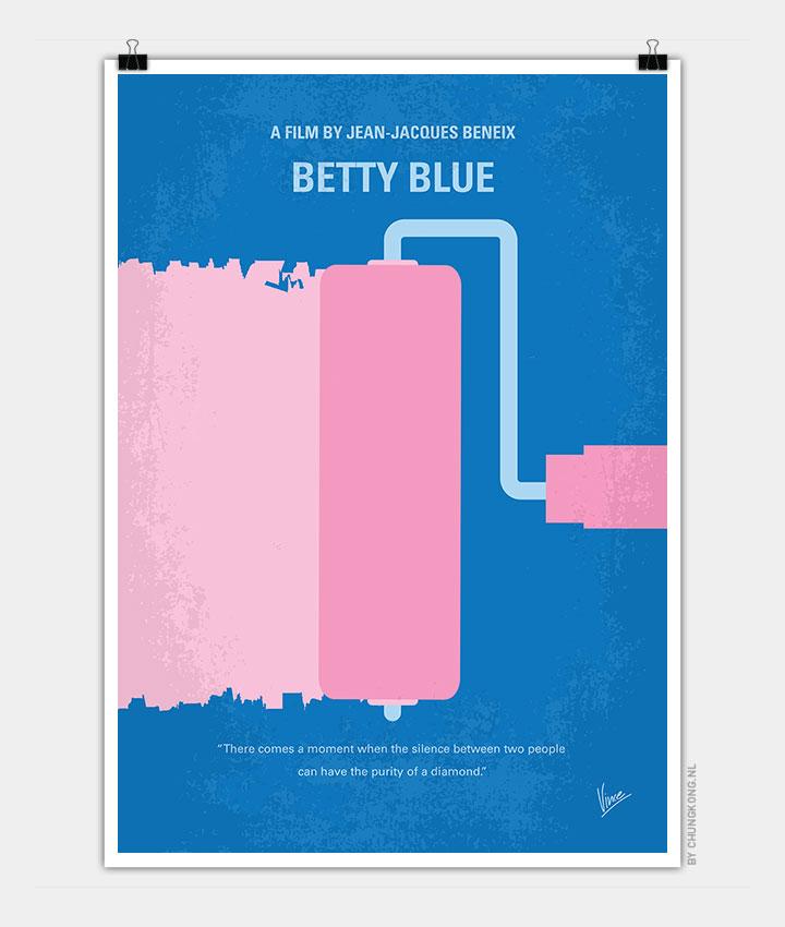 No359-My-Betty-Blue-minimal-movie-poster-720px