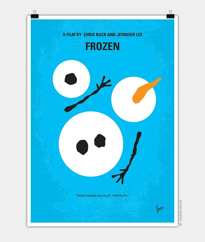 No396-My-Frozen-minimal-movie-poster-720px