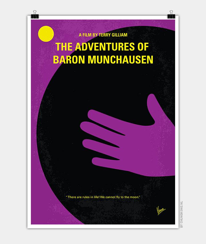 No399-My-Baron-von-münchhausen-minimal-movie-poster-720px