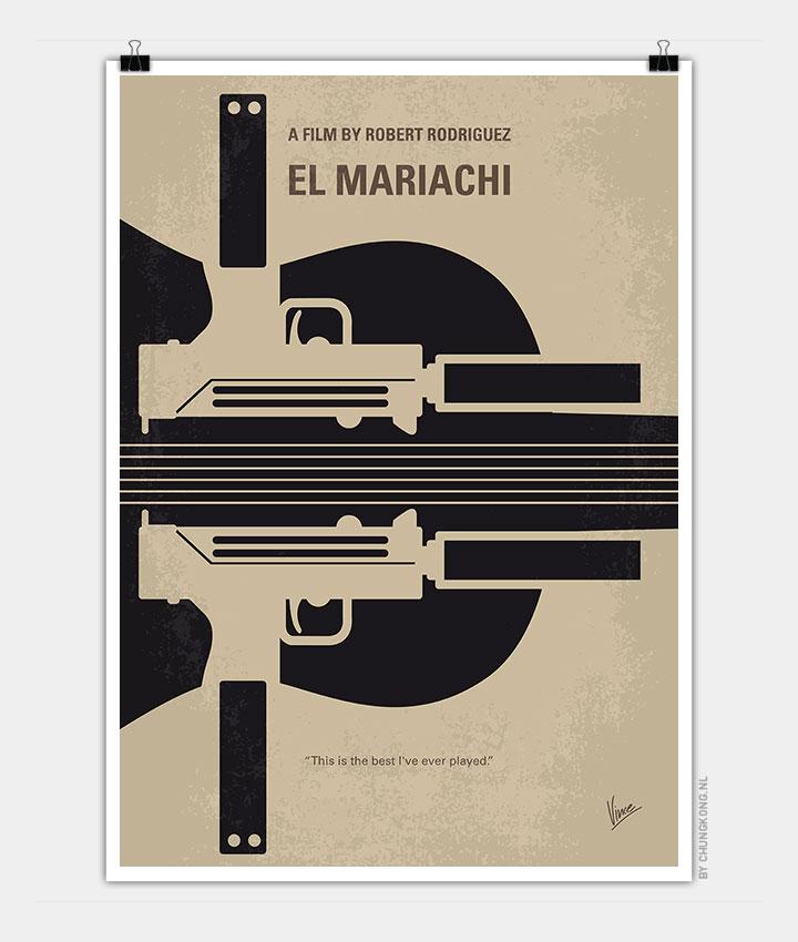 No445-My-El-mariachi-minimal-movie-poster-720px