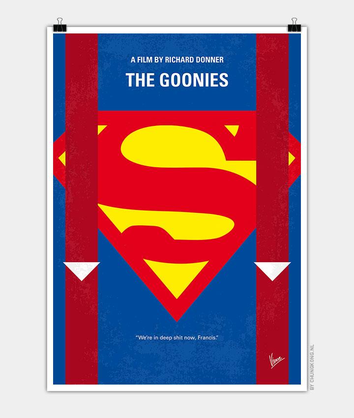 No456 My The Goonies minimal movie poster 720px