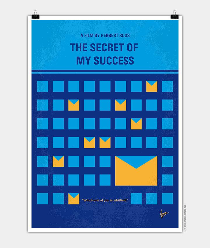 No464-My-THE-SECRET-SUCCES-minimal-movie-poster-720px