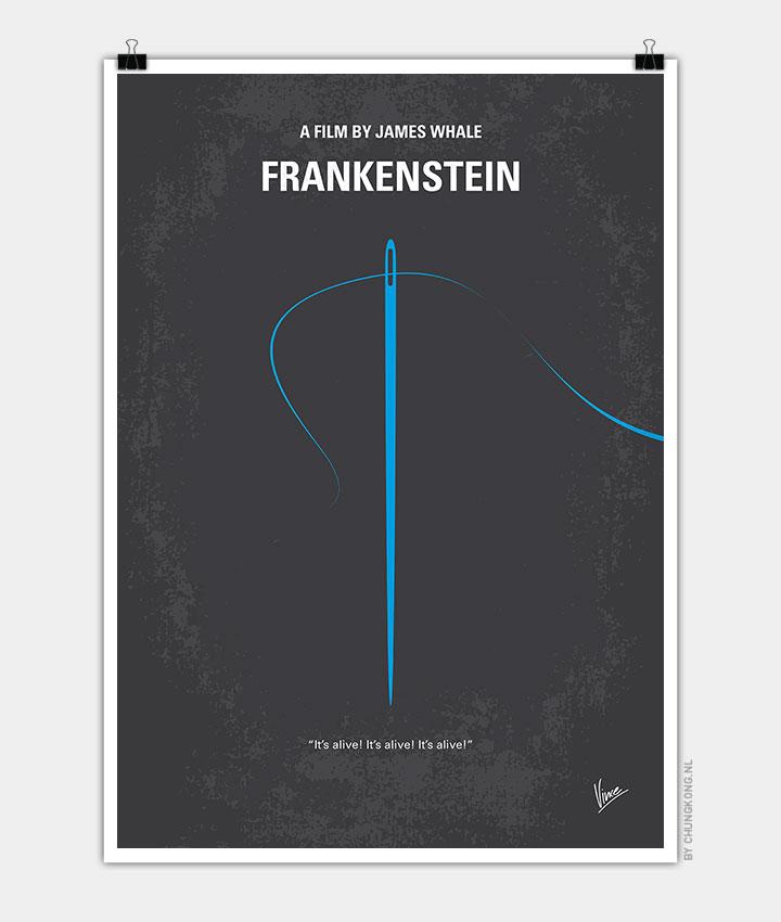 No483-My-Frankenstein-minimal-movie-poster-720px