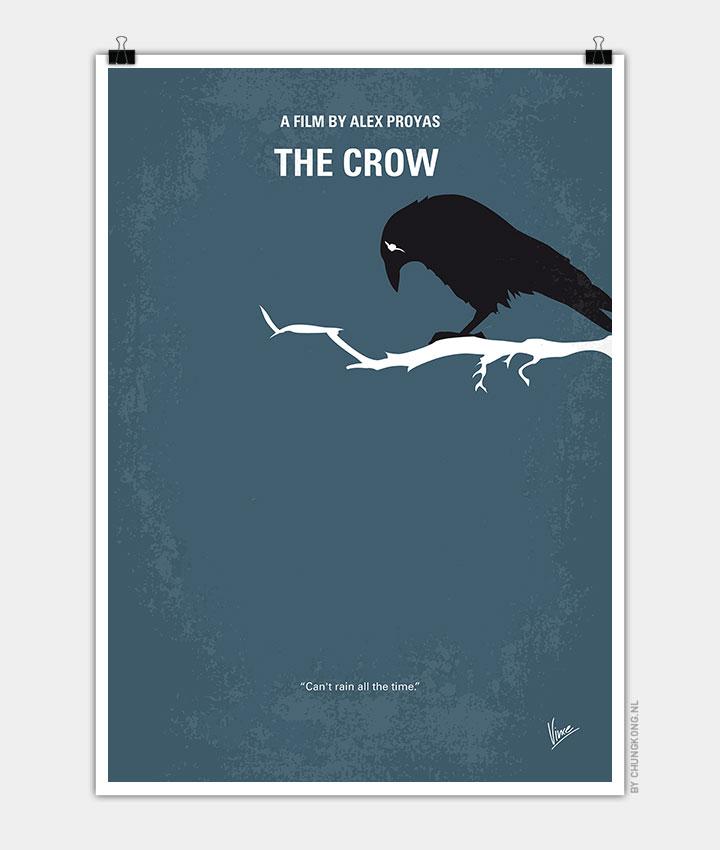 No488-My-The-Crow-minimal-movie-poster-720px