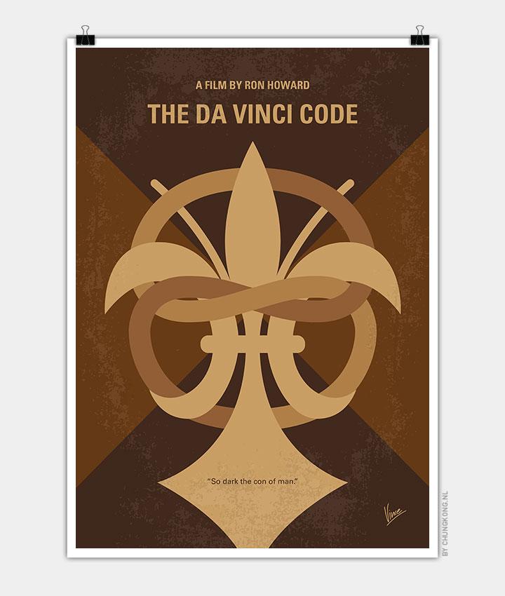 No548-My-Da-Vinci-Code-minimal-movie-poster-720px