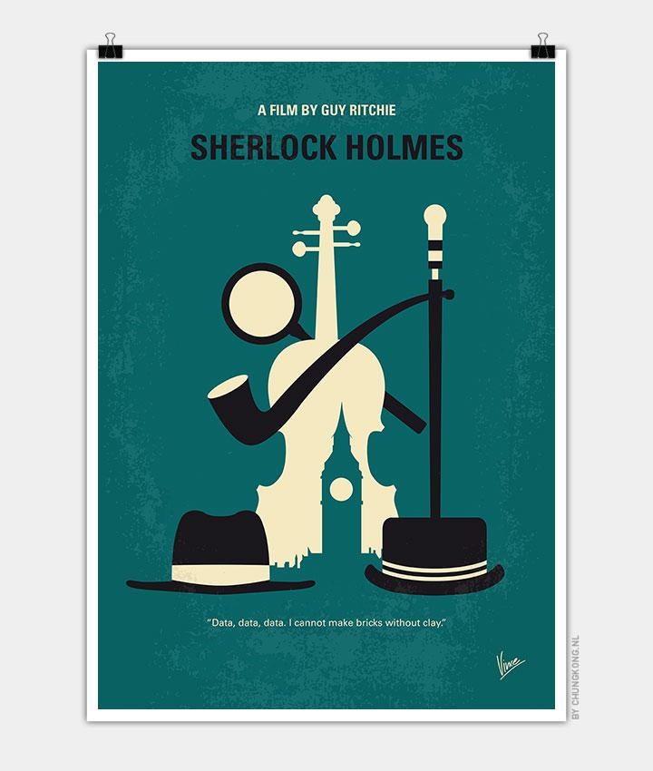 No555-My-Sherlock-Holmes-minimal-movie-poster-720px