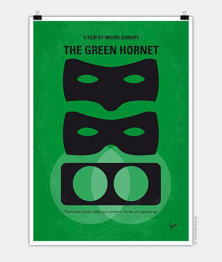 No561 My The Green Hornet minimal movie poster - CHUNGKONG