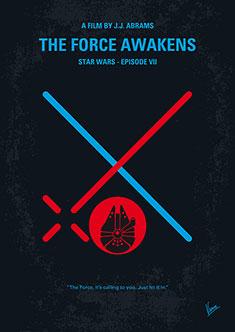 No591 My Star Wars Episode Vii The Force Awakens Minimal Movie Poster Chungkong