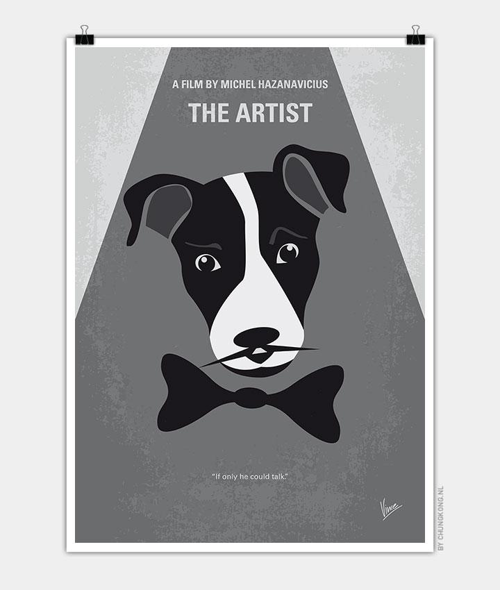 No609-My-The-Artist-minimal-movie-poster-720px