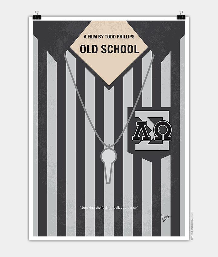 No614-My-Old-School-minimal-movie-poster-720px