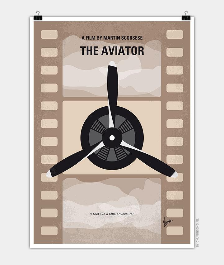 No618-My-The-Aviator-minimal-movie-poster-720px
