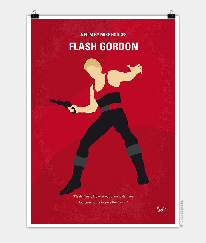 No632-My-Flash-Gordon-minimal-movie-poster-720px