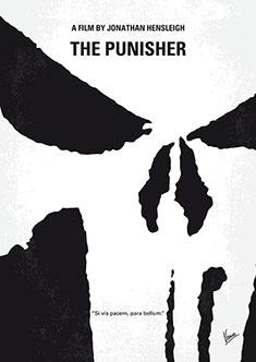 no676 my the punisher minimal movie poster