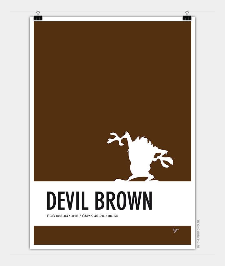 no16-my-minimal-color-code-poster-tasmanian-devil-720px