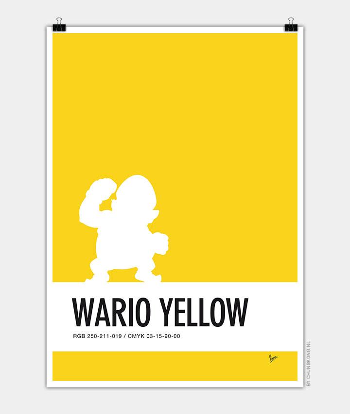 no43-my-minimal-color-code-poster-wario-720px