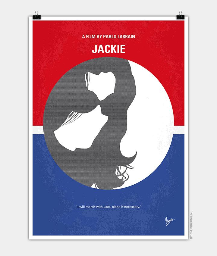 No755 My Jackie minimal movie poster - CHUNGKONG