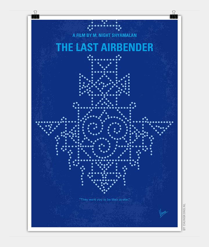 Avatar Movie Poster: No764 My The Last Airbender Minimal Movie Poster
