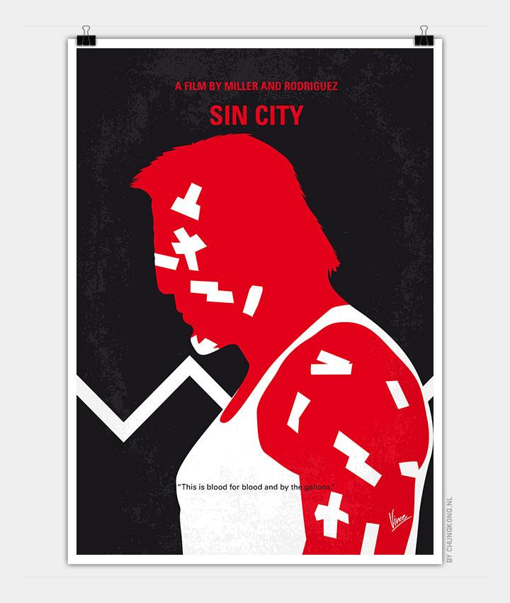 No304 1 My Sin City Minimal Movie Poster Chungkong