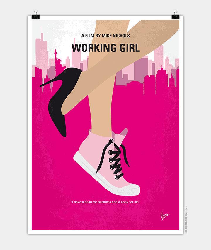 Girl minimal movie poster - CHUNGKONG